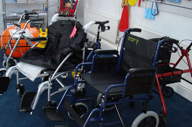 equipment hire for disabled people in bradford