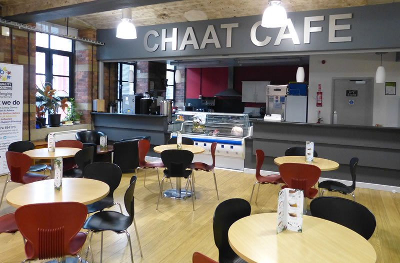 room hire in bradford cafe area